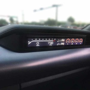 Autosonus Mustang Passenger LCD Display Dash Panel Screen Matte Black
